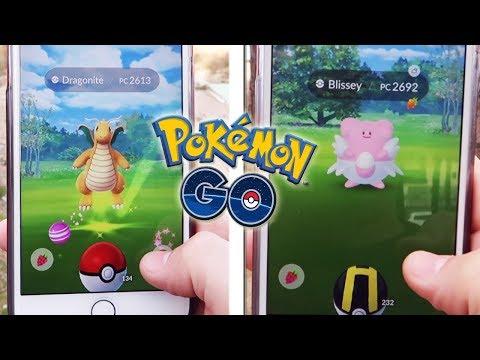 connectYoutube - ¡CAPTURAS ÉPICAS en Pokémon GO! DRAGONITE, BLISSEY y muchos más!!! [Keibron]