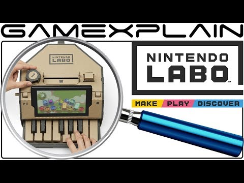connectYoutube - Nintendo Labo ANALYSIS - Reveal Trailer (Secrets & Future Toy-Cons)