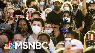 Oakland Protesters Defy Curfew After Peaceful Demonstrations | The 11th Hour | MSNBC