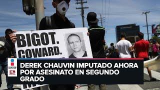 Cuatro policías enfrentan cargos penales por muerte de George Floyd
