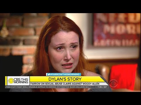 connectYoutube - Dylan Farrow Breaks Down After Detailing Woody Allen Sexual Assault Allegations