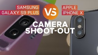 Galaxy S9 vs. iPhone X: The cameras battle it out