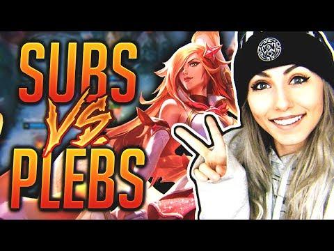 SUBS VS PLEBS | Nicki Taylor