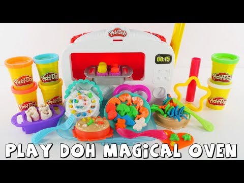 connectYoutube - Play Doh Kitchen Creations Magical Oven | Toy Review | DCTC Amy Jo