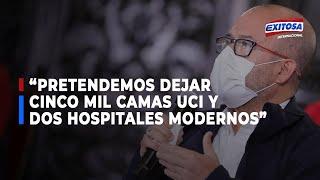 """Zamora: """"Pretendemos dejar nuestro Gobierno con 5 mil camas UCI y 2 hospitales modernos"""""""