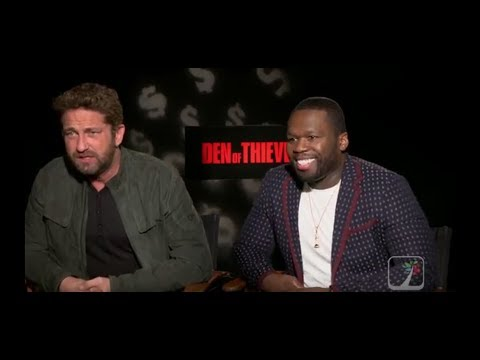 50 Cent and Gerard Butler on their new movie Den of Thieves