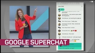 YouTube Super Chat: Pay up to pin your livestream comments