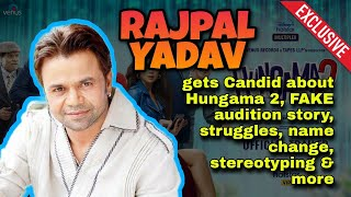 Rajpal Yadav Spills The Beans on Hungama 2, FAKE audition story, getting stereotyped, and more - TELLYCHAKKAR