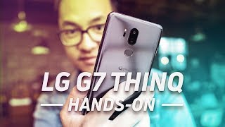 LG G7 ThinQ Hands-On: Amplified
