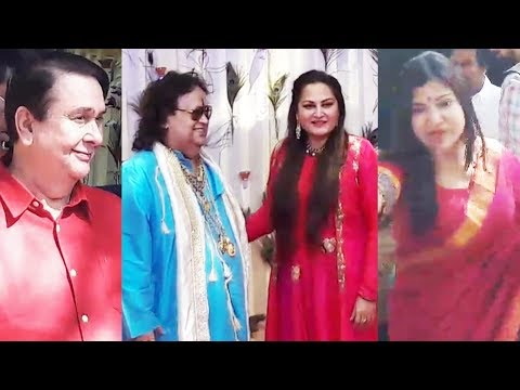 connectYoutube - Bollywood Celebs At Bapp Lahiri's Rice Eating Ceremony For Grandson