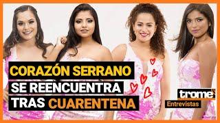 Corazón Serrano se reencuentra y no hará conciertos hasta que salga vacuna