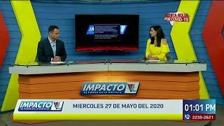 Impacto VTV Meridiano del 27 de Mayo de 2020