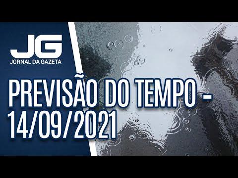 Previsão do Tempo – 14/09/2021