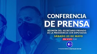 #ConferenciaDePrensa | Sábado, 23 de mayo del 2020.