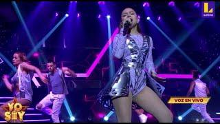 Danna Paola deslumbró sobre el escenario