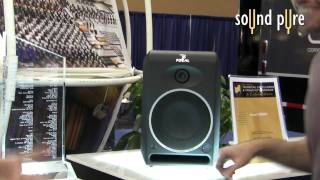 Focal CMS50 and CMS65 Studio Monitors at AES NYC, Oct. '09