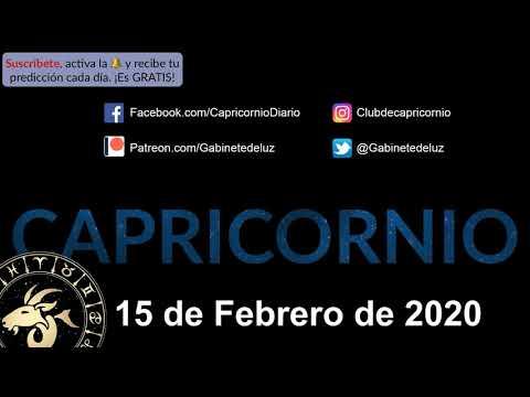 Horóscopo Diario - Capricornio - 15 de Febrero de 2020