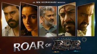Roar Of RRR - RRR Making   NTR, Ram Charan, Ajay Devgn, Alia Bhatt   SS Rajamouli - TSERIES