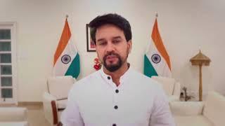 Anurag Thakur launches campaign to cheer India at Olympics - ANIINDIAFILE
