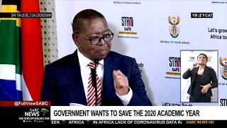 Higher Education Minister says abandoning 2020 academic year not on the cards