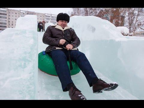 Заммэра Томска по безопасности прокатился с горки