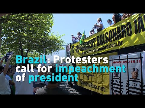 Brazil: Protesters call for impeachment of president