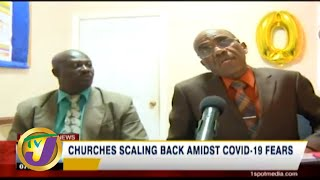 TVJ News: Churches Scaling Back Amidst Virus Fears - March 14 2020
