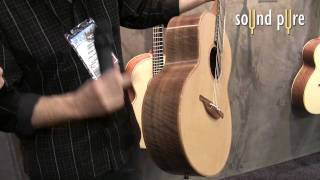 Lowden Guitars - George Lowden Cuban Mahogany - NAMM 2010