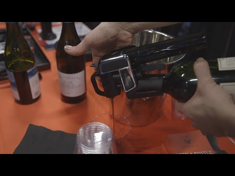 connectYoutube - This wine opener lets you pour a glass without uncorking