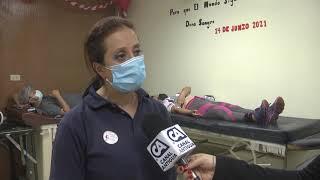 Se conmemora el Día Mundial del Donante Voluntario de Sangre en el Hospital General