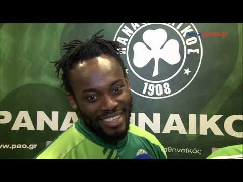 Video: Former Chelsea ace Michael Essien speaks about his career in Greece with Panathinaikos