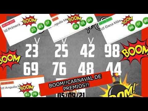 BOOM!! CARNAVAL DE PREMIOS EL 98 EN LOTERIA GANA MAS, El 23 WN LA PRIMERA Y 25 EN ANGUILA!!