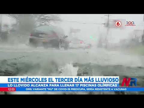 Miércoles fue el tercer día más lluvioso del año