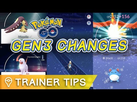 connectYoutube - 16 CHANGES YOU NEED TO KNOW ABOUT POKÉMON GO GEN 3