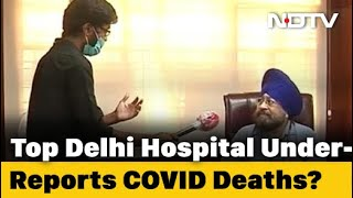 Coronavirus Deaths To Surge In Delhi As Key Hospital Sets Record Straight - NDTV