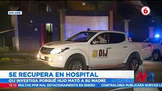 Hombre que asesinó a su madre se recupera en hospital tras intentar suicidarse