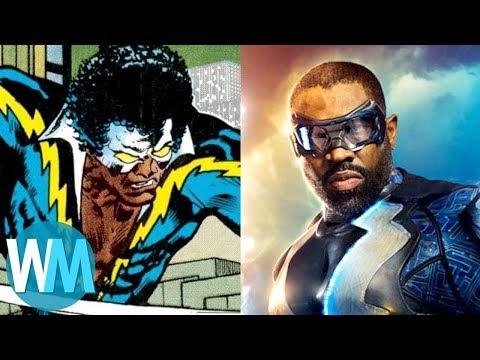 connectYoutube - Comic Book Origins: Black Lightning