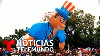 Celebre el cuatro de julio desde casa con la ayuda del mundo virtual | Noticias Telemundo