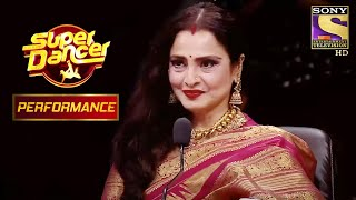 Palden और Mishti ने दिया Rekha Ji को Tribute | Super Dancer Chapter 2 - SETINDIA