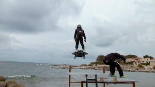 Hoverboard flight breaks world record