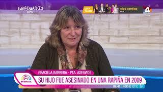 Buen Día - Graciela Barrera se toma un café con Claudia