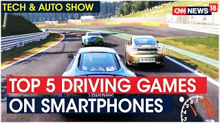 Top 5 Driving Games You Can Play On Your Smartphone | Tech And Auto Show - IBNLIVE