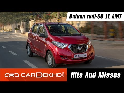 Datsun RediGo 1L AMT | Hits & Misses