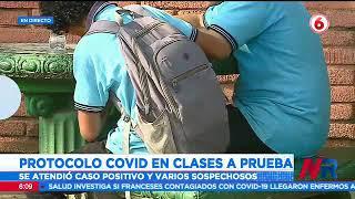 Reportan un estudiante con COVID-19 en Nicoya