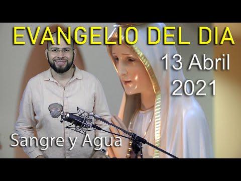 Evangelio Del Dia de Hoy - Martes 13 Abril 2021- Despojate De Todo - Sangre y Agua