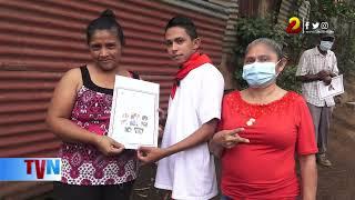Continúan llevando más títulos de propiedad a familias nicaragüenses