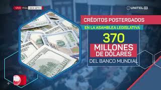 Conozca las cifras de los créditos que otorgarían organismos internacionales
