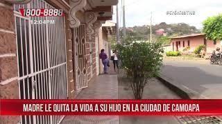 Madre le quita la vida a su propio hijo en la ciudad de Camoapa - Nicaragua
