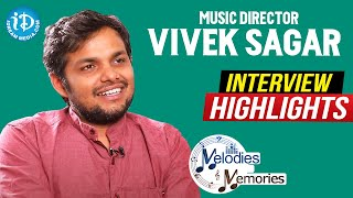 Music Director Vivek Sagar Exclusive Interview Highlights | Melodies & Memories | iDream Movies - IDREAMMOVIES