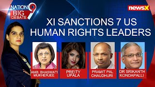 Xi sanctions 7 US human rights leaders   China closer to global isolation 3.30   NewsX - NEWSXLIVE